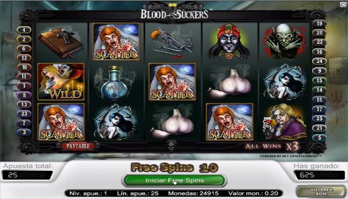 Blood Suckers kolikkopelit NetEnt